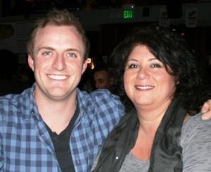 Evan Sanders and Melissa Reyes