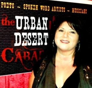 Miz Meliz at Urban Desert Cabaret http://mizmeliz.com photo property of Lito Reyes Copyright 2013