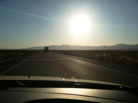 Sunrise over Nevada