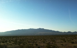 Jagged Mountain Tops in the Distance