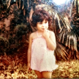 Who knew this shy little girl would be such a show off?