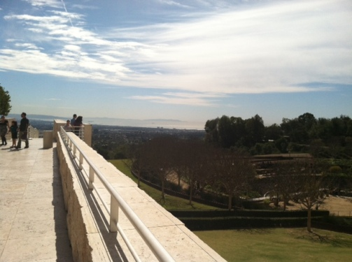 View from the Getty at #SOME Event