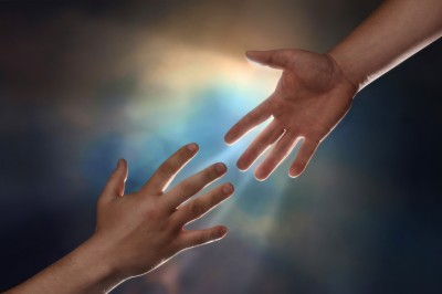 Image credit: <a href='http://www.123rf.com/photo_7050742_two-male-hands-one-reaching-down-to-assist-another-hand-reaching-up-with-sunburst-in-the-background.html'>jgroup / 123RF Stock Photo</a>