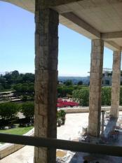 View from the Cafe at the Getty Center