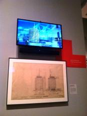 Architecture of Los Angeles exhibit at the Getty Center
