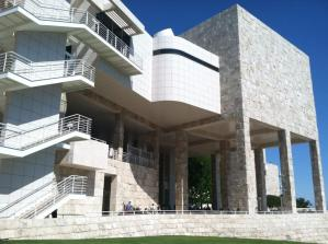Symmetry in planning at the Getty Center